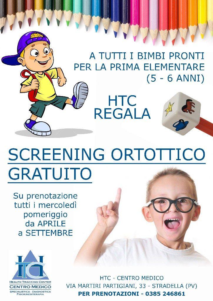 Screening ortottico gratuito HTC Centro Medico Stradella PV