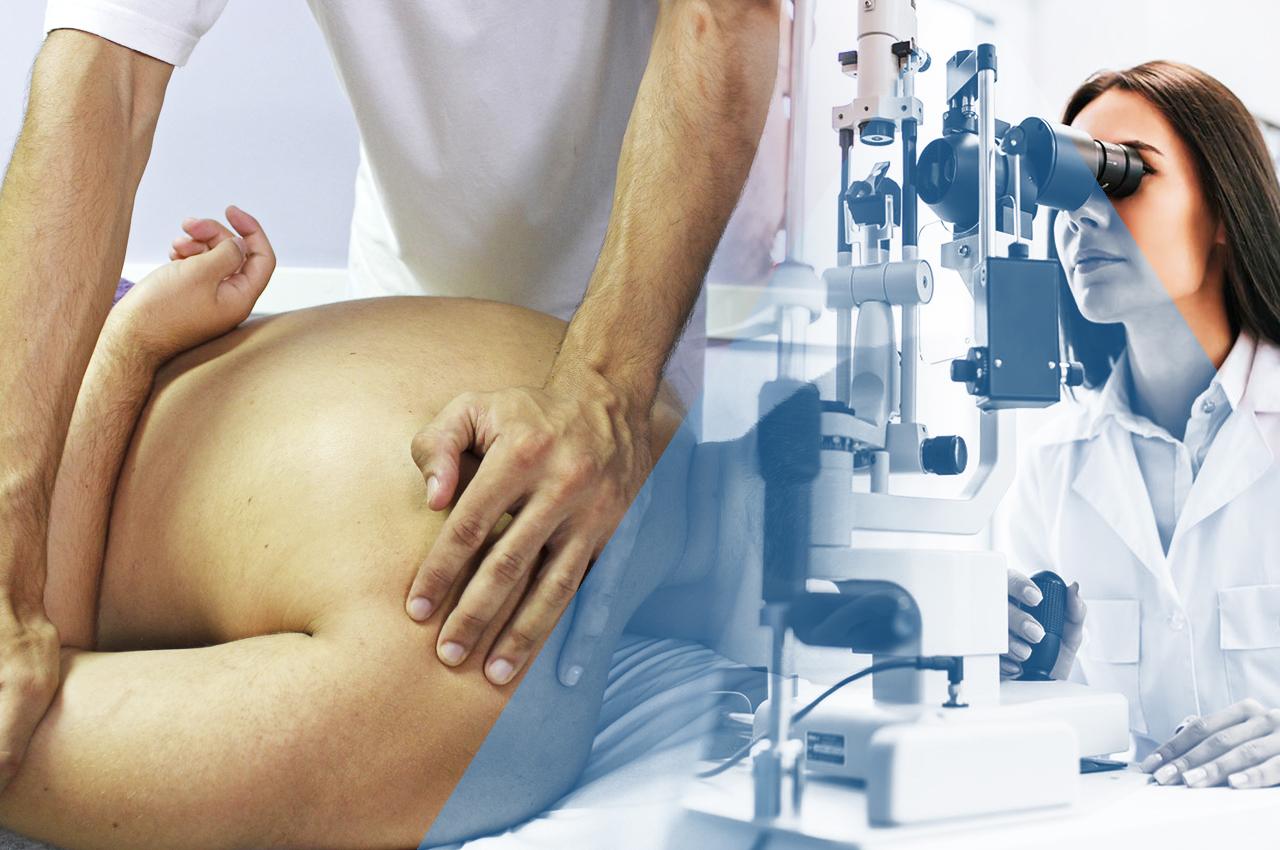 osteopata e ortottista per problemi di postura