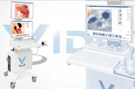 Mappatura dei nei computerizzata con videodermatoscopio digitale Vidix 4.0