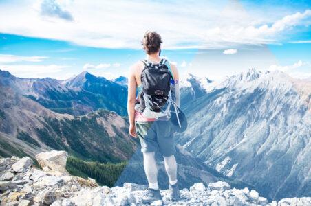 vacanza in montagna, la salute ci guadagna