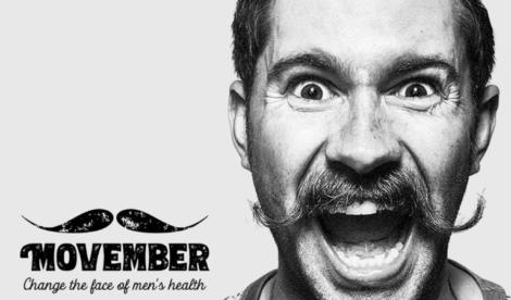 Movember Salute Maschile