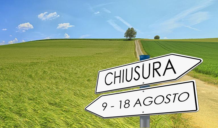Chiusura Estiva - HTC Centro Medico Stradella Pavia